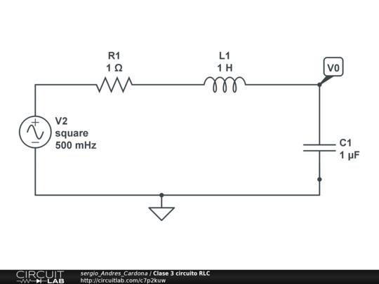 Circuito Rlc : Clase circuito rlc circuitlab