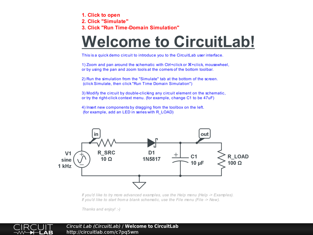 Introduction Ultimate Electronics Book Circuitlab Electronic Load Circuit Design Corequisites Studying