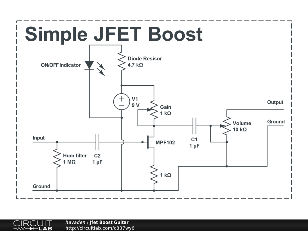 Stupendous Public Circuits Tagged Jfet Circuitlab Wiring Cloud Nuvitbieswglorg