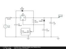 Coherent Visible Laser Module Driver