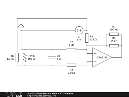 Circuitlab Temperature Sensor Pt100 4wire Wiring Diagram General Url