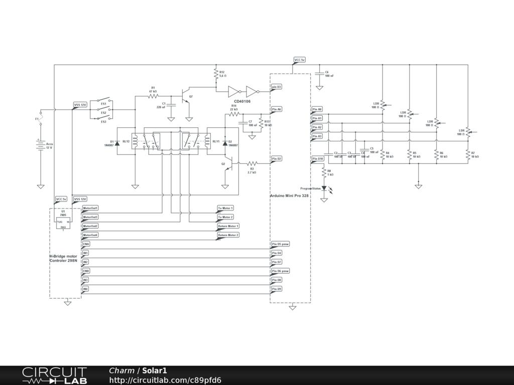Led Solar Tracker Circuit Diagram Wire Data Schema Diy System As Light Sensor For My Rh Forum Arduino Cc Control Project Schematics