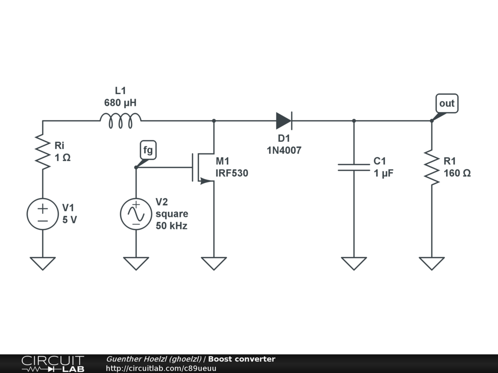 Amazing Public Circuits Tagged Boost Converter Circuitlab Wiring 101 Taclepimsautoservicenl
