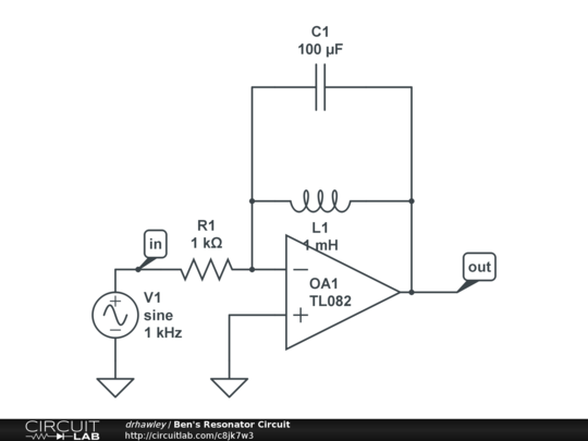 ben u0026 39 s resonator circuit