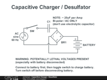 Capacitive Charger / Desulfator