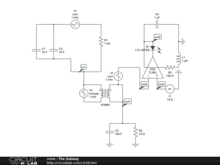 5-stage Op-Amp/Transformer with LED