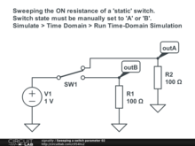 Sweeping a switch parameter 02