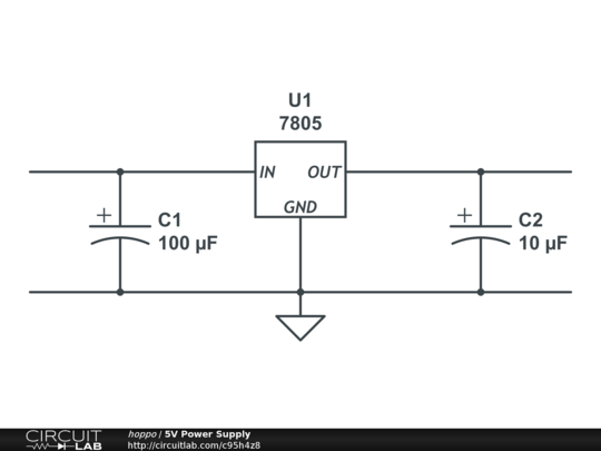 simple power supply diagram 5v power supply circuitlab  5v power supply circuitlab