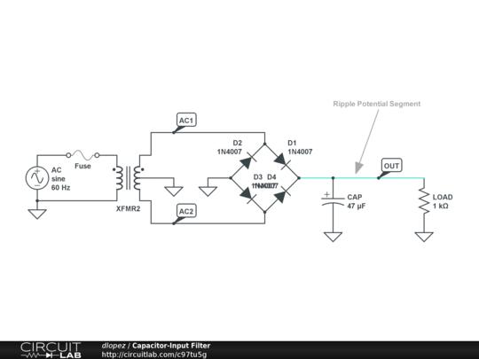 capacitor-input filter public