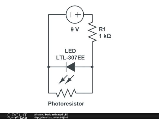 photoresistor in parallel