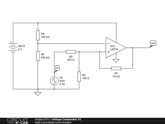 voltage comperator v1