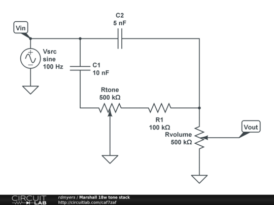 Marshall 18w tone stack - CircuitLab on hiwatt schematic, 18 watt tmb schematic, marshall 18 watt amp kit, 120 watt tube amp schematic, peavey 260 schematic, marshall amp schematics, trinity 18 watt mkii schematic, 18 watt amp schematic, marshall 2210 schematics, marshall 50 watt plexi layout, bluesbreaker schematic, 5 watt tube amp with reverb schematic,