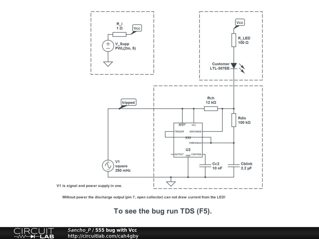 Bug Report 555 Timer Model Vcc Circuitlab Support Forum Circuit Diagram Using Regards