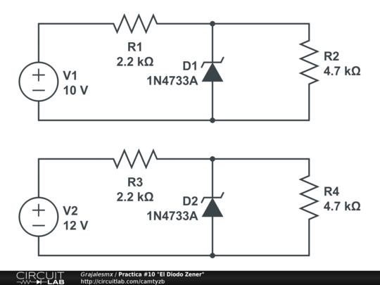 practica  10  u0026quot el diodo zener u0026quot