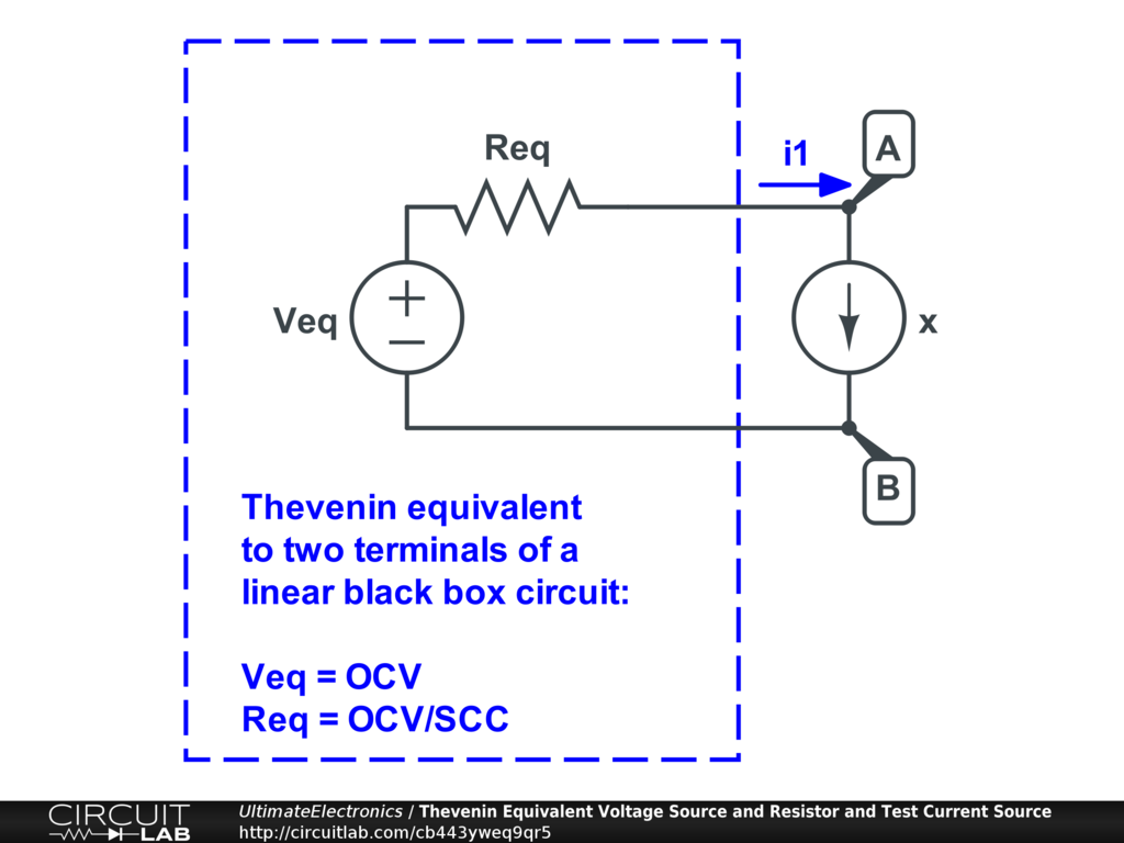 Thevenin Equivalent And Norton Circuits Ultimate Circuit Diagram Voltage Source If