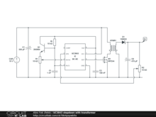 UC3843 stepdown with transformer