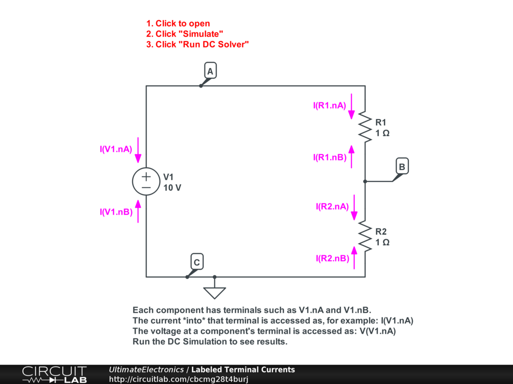 Labeling Voltages Currents And Nodes Ultimate Electronics Book Components In A Parallel Circuit There Is Voltmeter V1 Component Such As Voltage