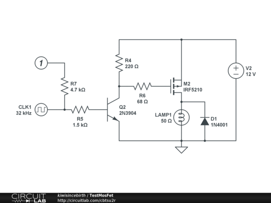 Driving mosfet