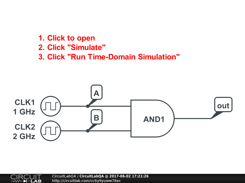 Online Digital Circuit Simulator