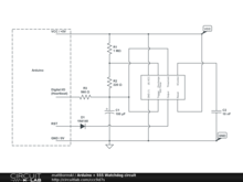 Arduino + 555 Watchdog circuit