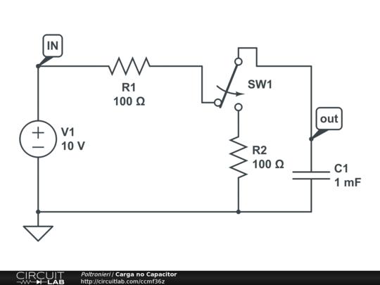 carga no capacitor