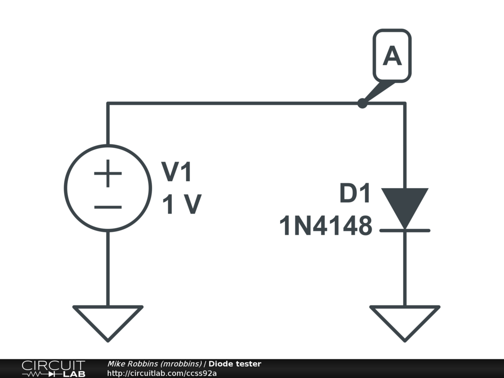 Junction Built In Potential Diode 1n4148 Circuitlab Support Led With A Capacitor