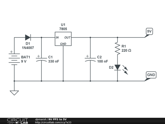 How To Design A Dc Power Supply In Proteus in addition Digital Clock likewise Simple Adjustable Constant Current Circuit additionally Variable Voltage Power Supply additionally LM317 High Current Voltage Regulator. on charger diagram 7805 on