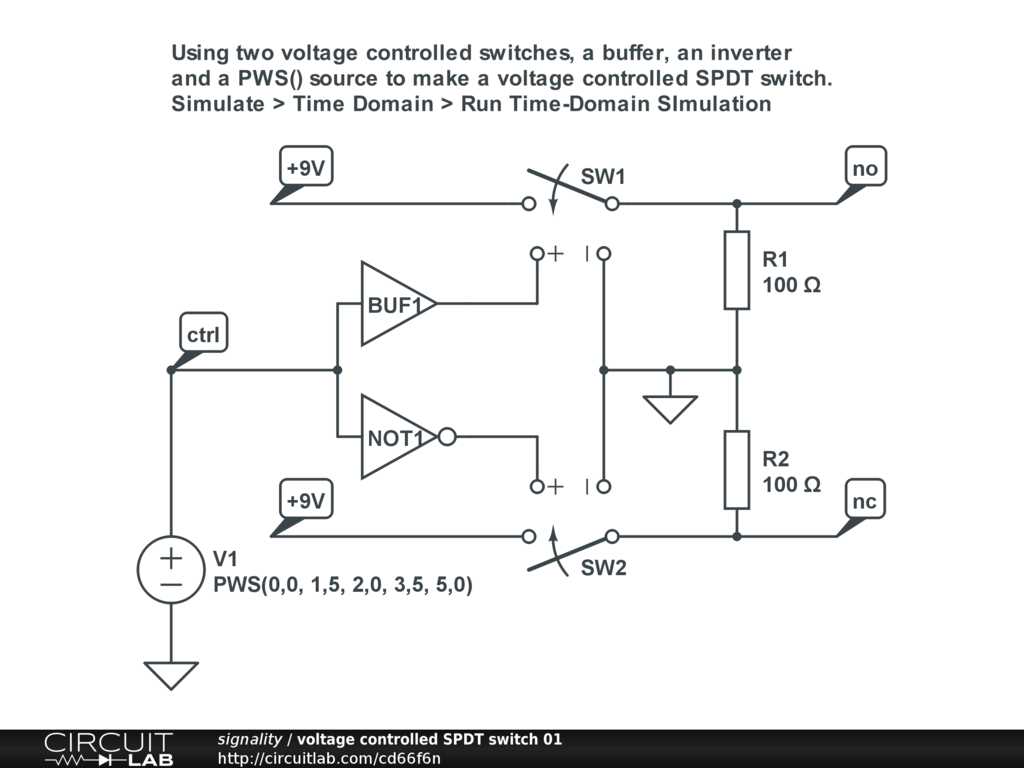 Need a circuit to mimic a 4 position slide switch - Basic ...