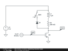 Switching inductive loads