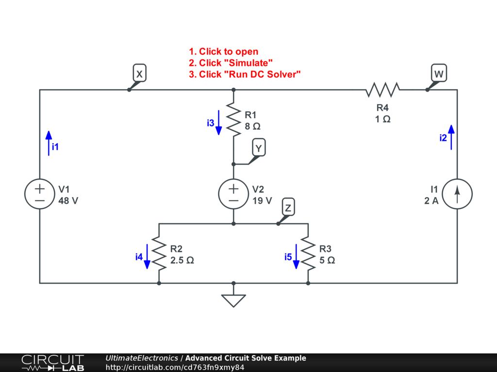 Thevenin Equivalent and Norton Equivalent Circuits