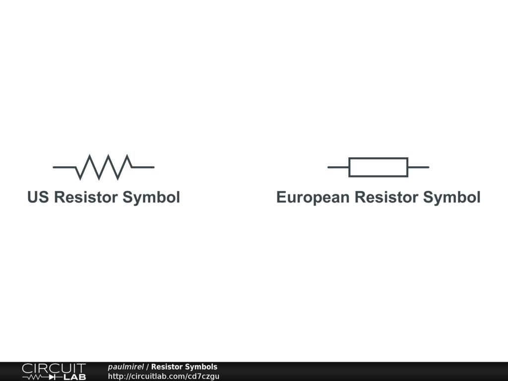Resistor Symbols - CircuitLab