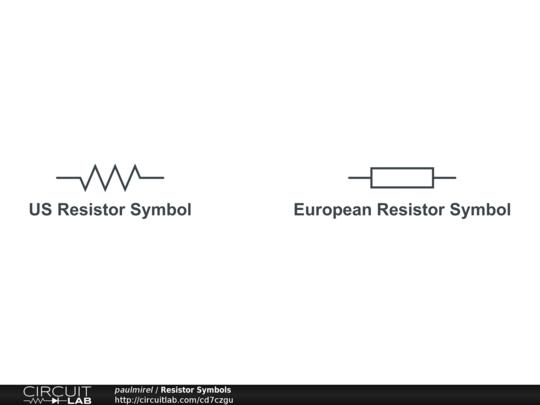 Resistor Symbols Circuitlab