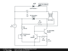 JT Dimming Driver Circuit