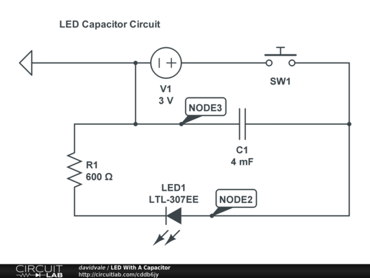 Fading LED Circuit