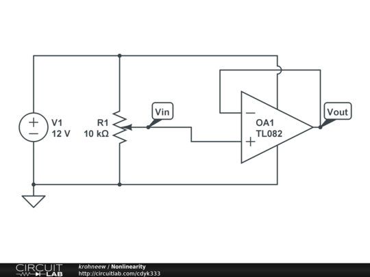 op-amp nonlinearity - analog design
