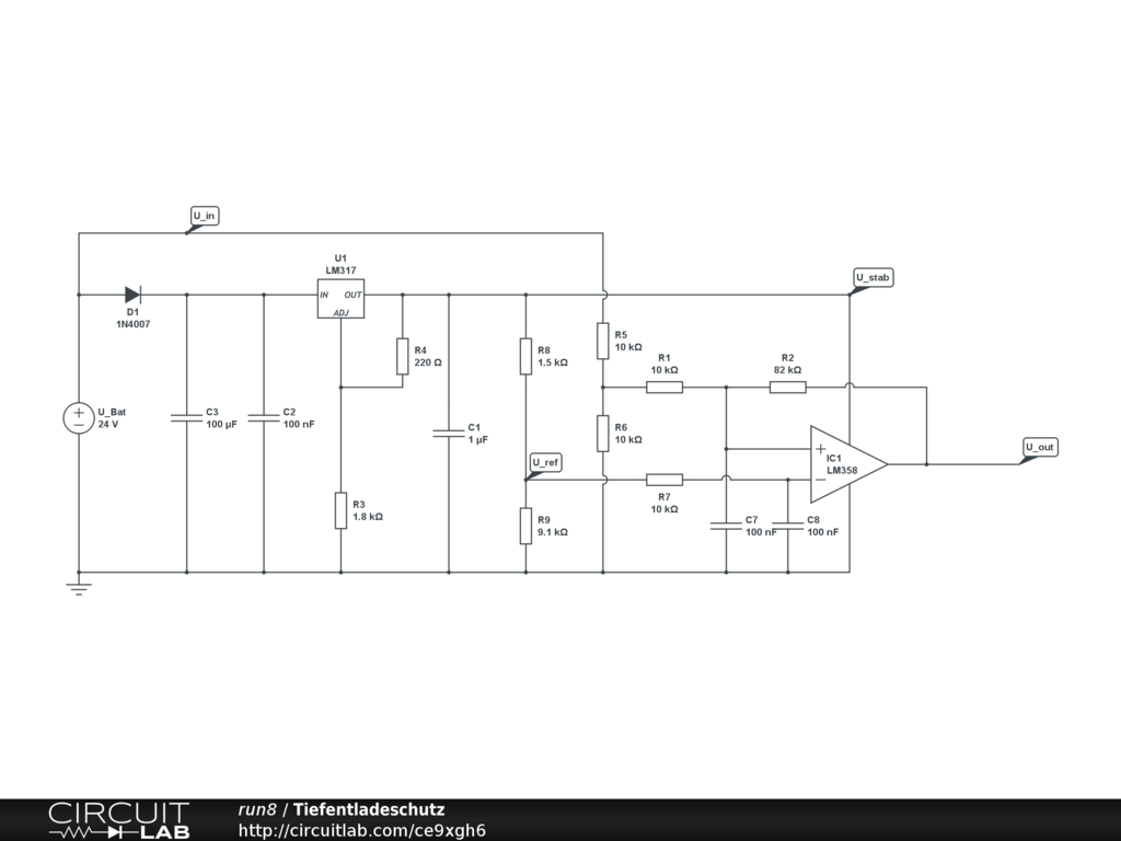 Problem With Opamp And Voltage Regulator Circuitlab Support Forum Below This Circuit Creates A Noninverting Comparator Hysteresis If