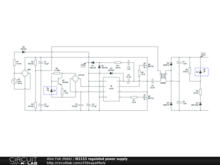 IR2153 regulated power supply