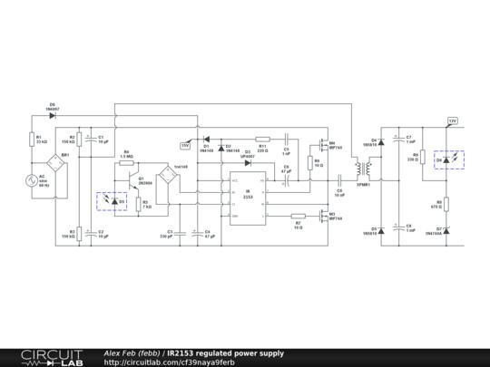 Ir2153 Circuit – Fondos de Pantalla