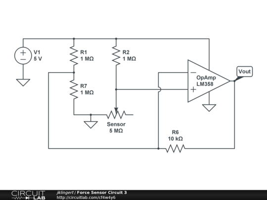 force sensor circuit 3