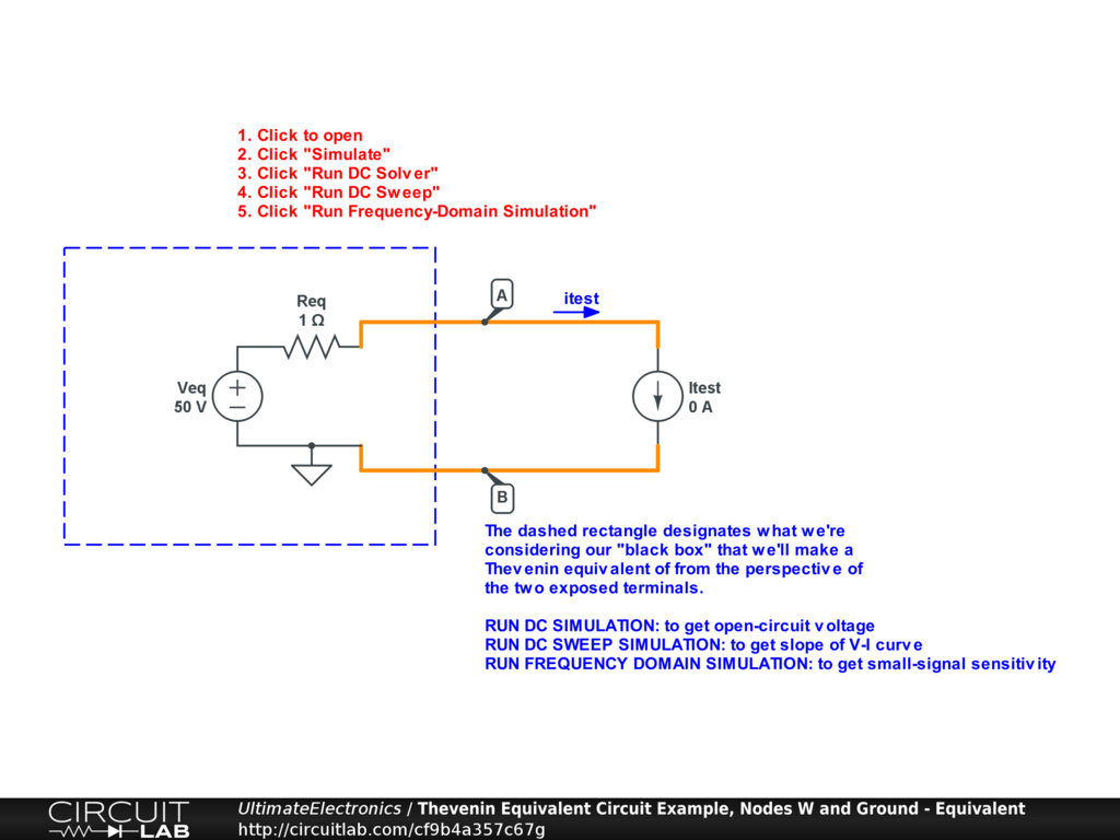 Thevenin Equivalent And Norton Circuits Ultimate To Having One 4 Resistor In The Circuit Interactive
