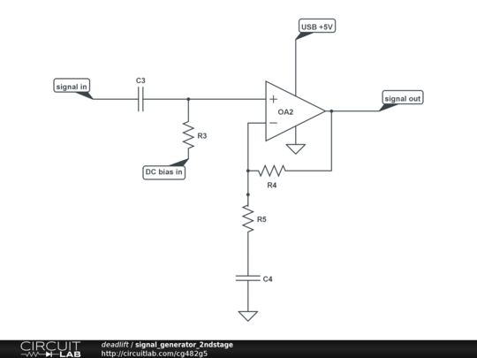 operational amplifier - Circuit to use sound output as a