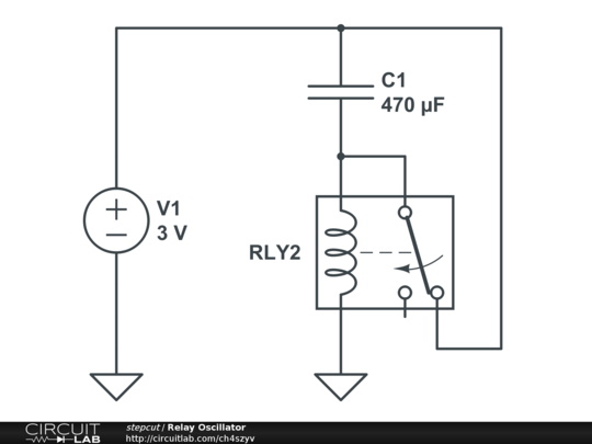 Relay Oscillator