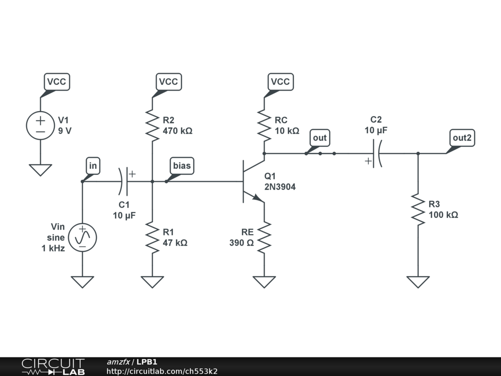 LPB1 - CircuitLab Lpb Schematic on