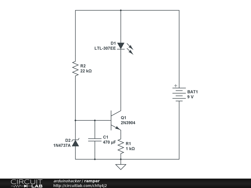Adding A Soft Start To My Circuit Lm334z Current Regulator It Will Ramp Up The
