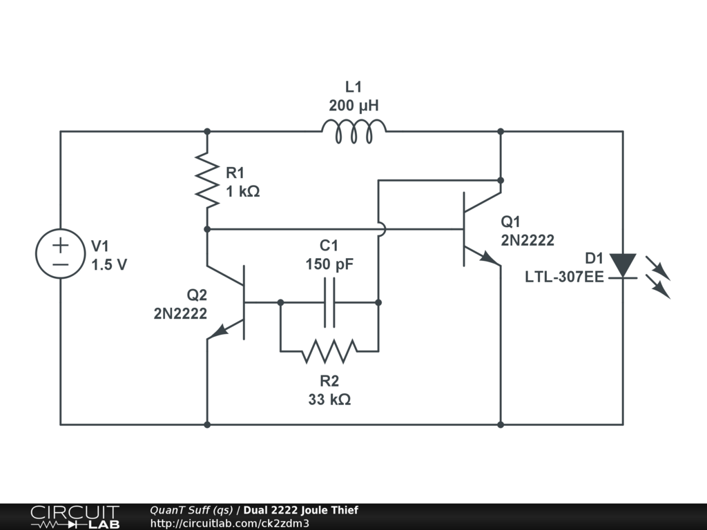 led circuit diagram joul theif