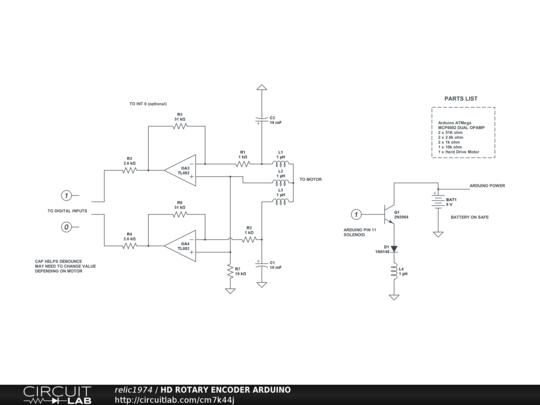 HD ROTARY ENCODER ARDUINO - CircuitLab