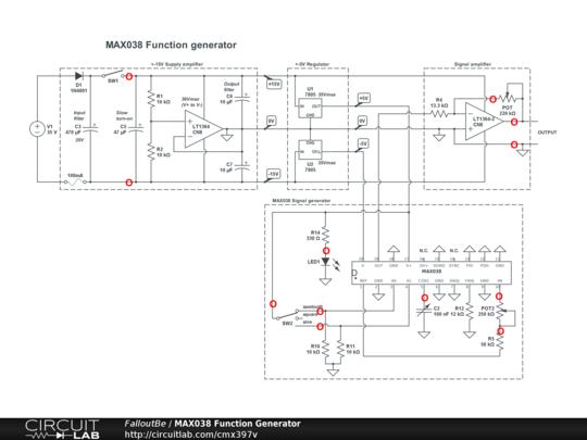 MAX038 Function Generator - CircuitLab