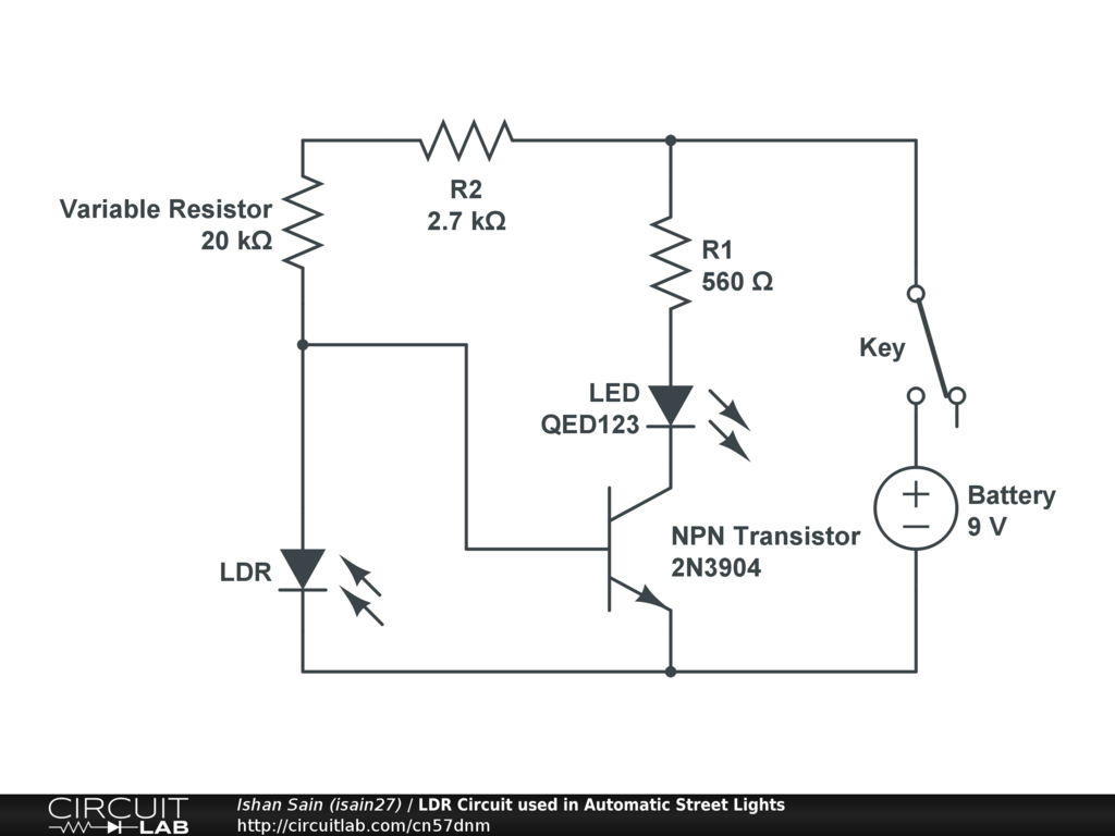 Lovely Ldr Street Light Ideas - Electrical and Wiring Diagram ...