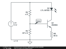 LED constant current controller