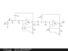 audio band pass filter